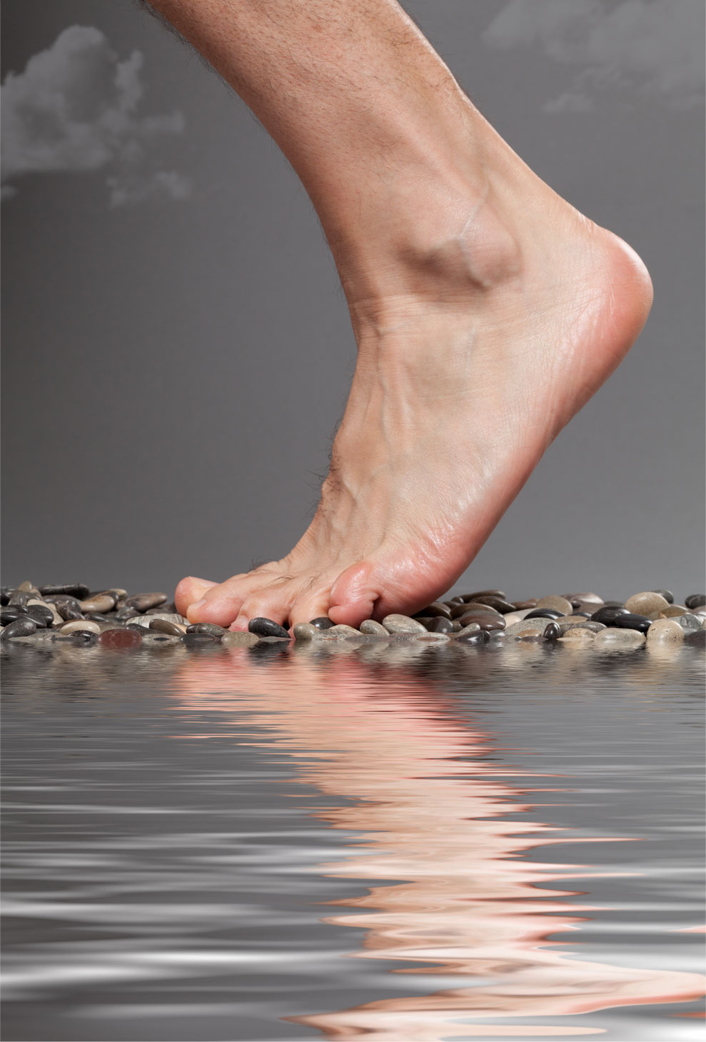 mens foot treatment